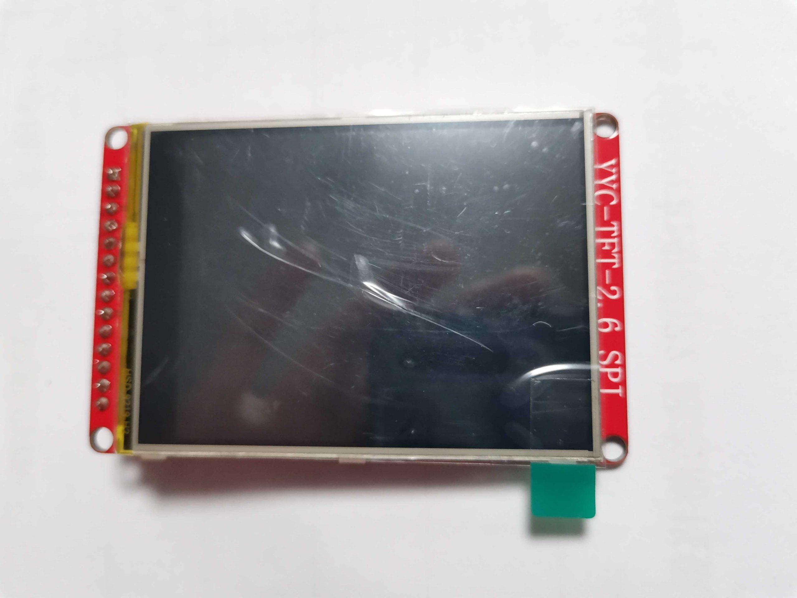 2.6寸TFT液晶屏定制SPI支持触摸