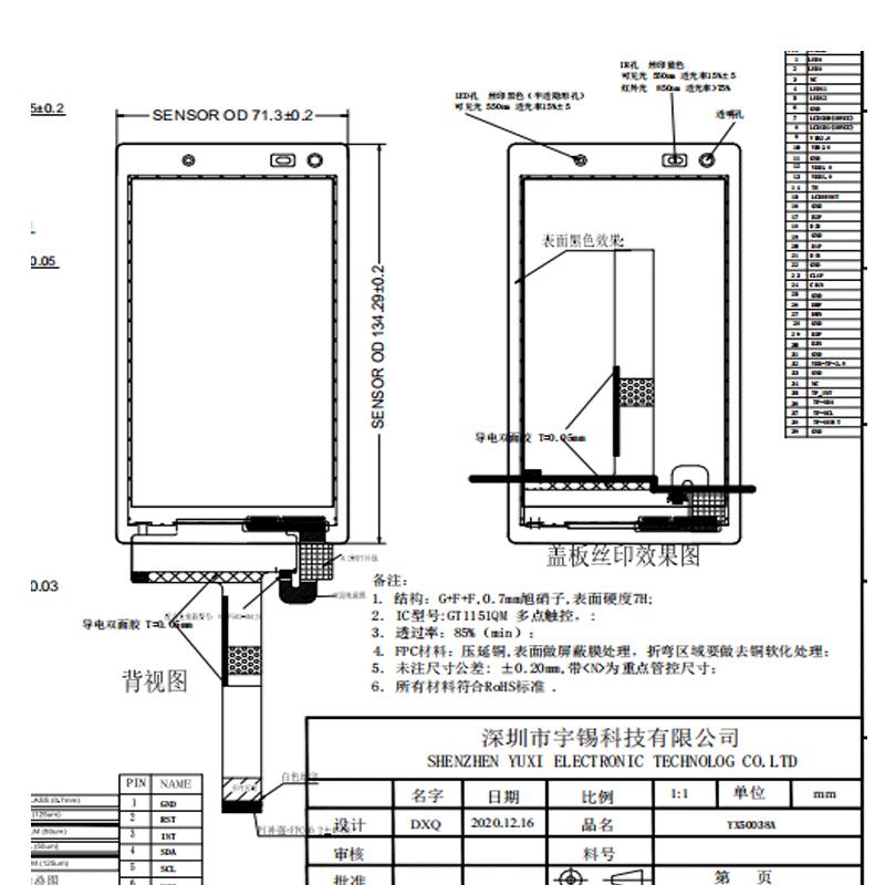 寸液晶屏IPS