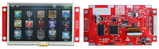 SPI480272彩色TFT液晶显示屏 面向高性价比的单片机系统、工业控制系统