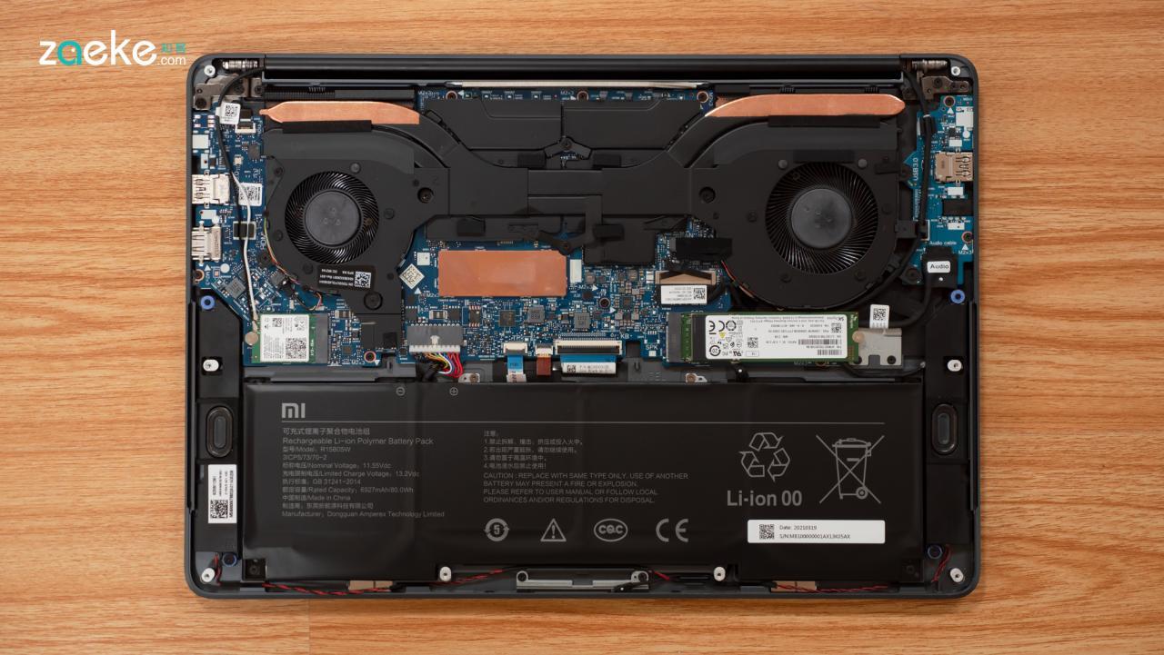 小米笔记本Pro X 15评测:不只是换个显卡这么简单