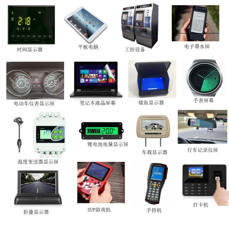 1.3寸液晶屏 240* 240 TFT IPS  可定制 穿戴设备屏