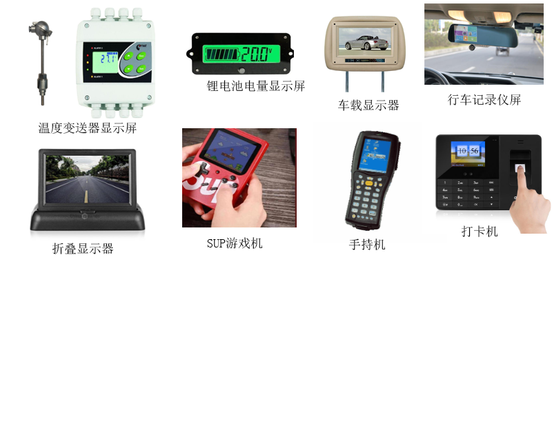 3.2寸液晶屏定制320×820小尺寸SPI手持仪器检测仪显示屏