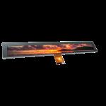 10.4寸液晶屏1024 x 100 RGB 41pin长条屏广告机显示屏支持定制