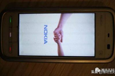 诺基亚手机怀旧老款式,已珍藏了10年