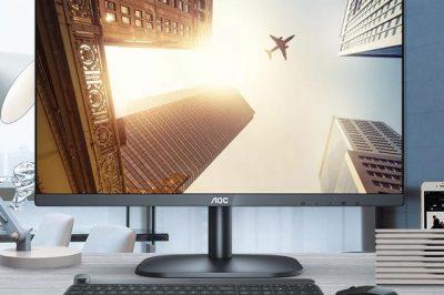 AOC推三款入门级显示器:21.5到27英寸,价格很实惠