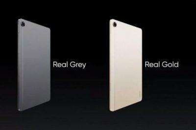 realme Pad发布:10.4吋IPS面板+Helio G80+7100mAh电池
