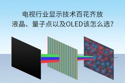 电视行业显示技术百花齐放,液晶、量子点以及OLED该怎么选?